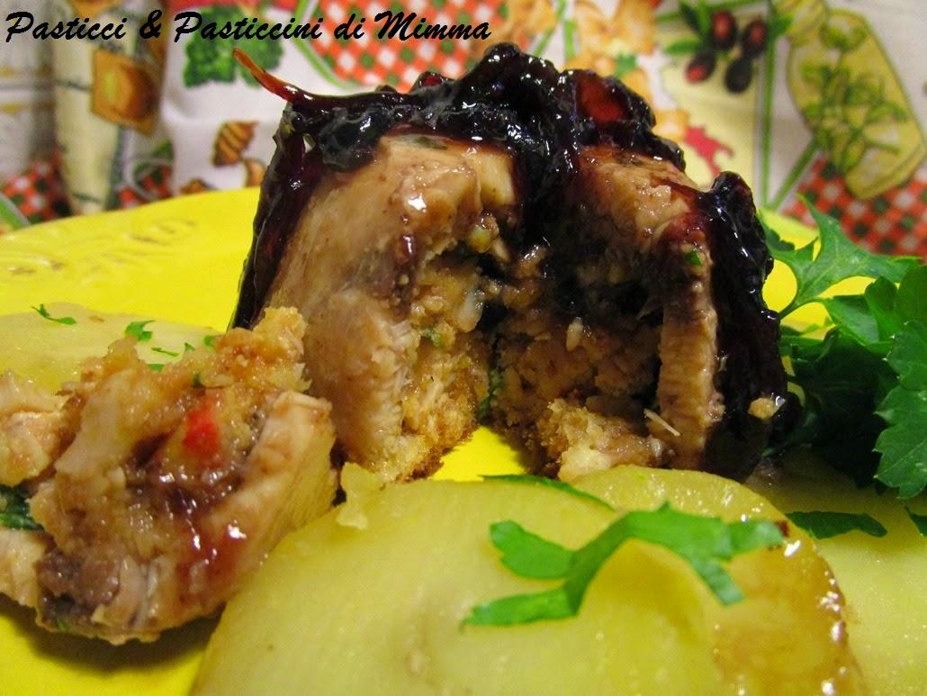Sformatini di pesce spada con cipolle caramellate in - Pesce su letto di patate ...