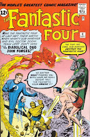 Fantastic Four #6 cover image picture