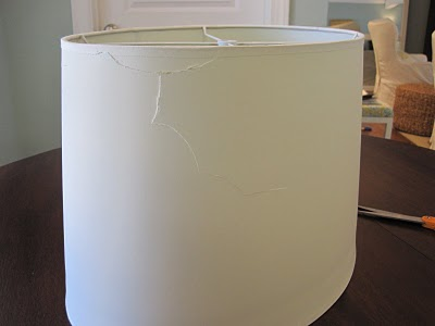 Before & After: Lampshade