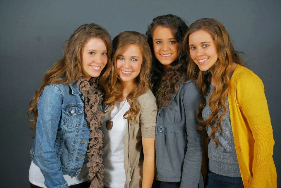 dugger girls If you watch the tlc show 19 kids and counting starring confirmed child  molester josh duggar, chances are you're familiar with the bates.