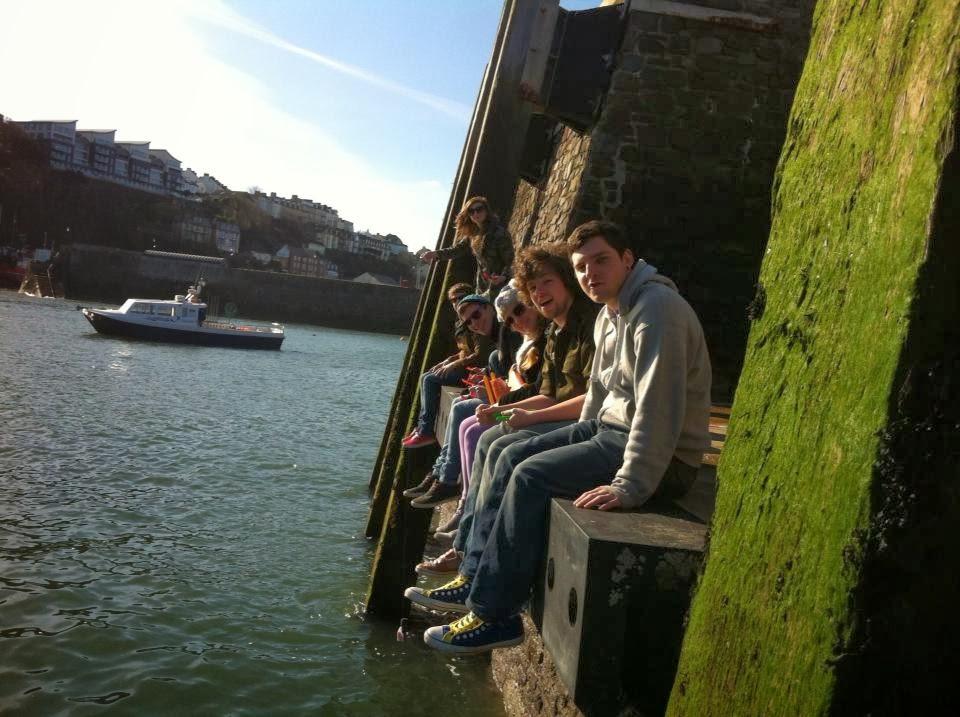 seaside crabbing