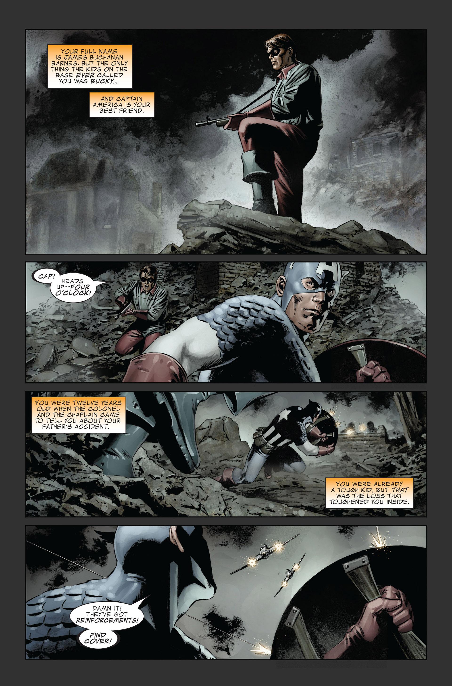 Captain America (2005) Issue #31 #31 - English 4