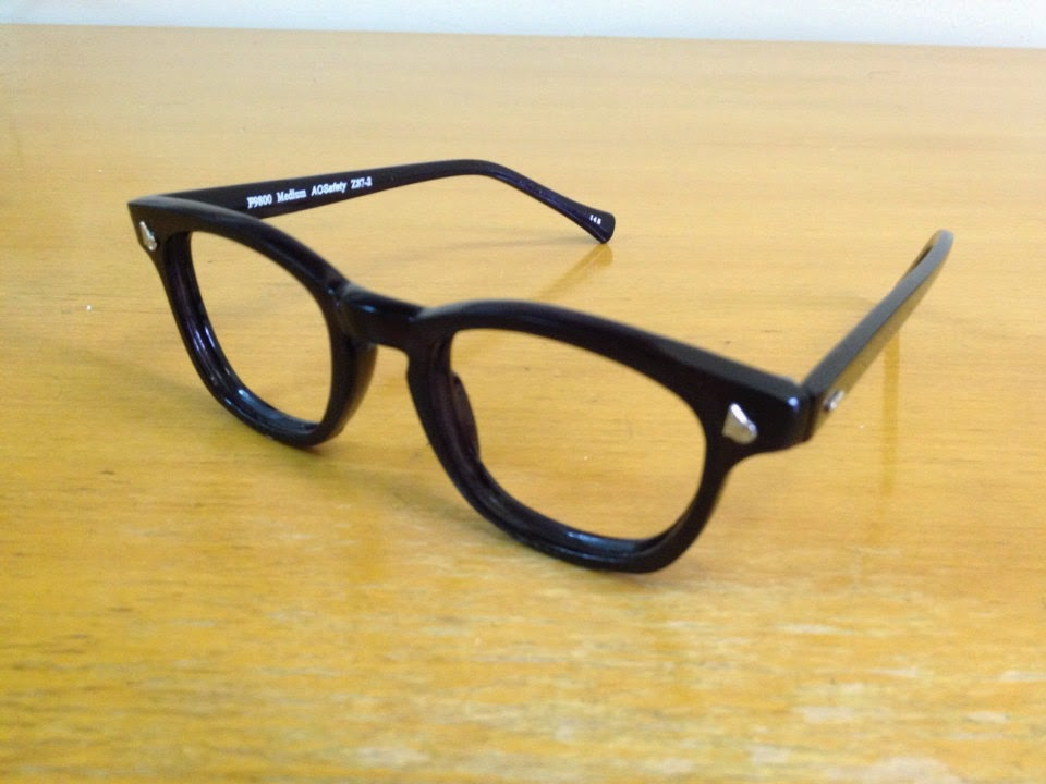 Malcolm X Horn Rimmed Glasses Frames Black Silver Browline