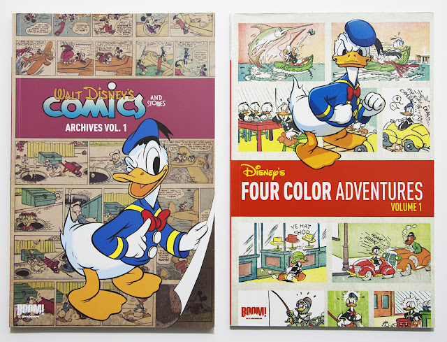 Four Color Adventures and Walt Disney's Comics and Stories Archives