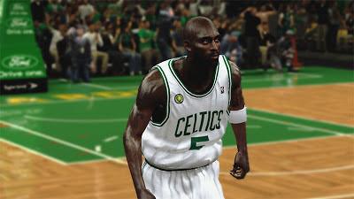 NBA 2K13 Kevin Garnett Realistic Face Mod