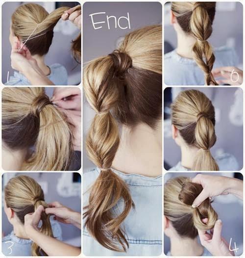 peinado facil y rapido - Peinado Facil