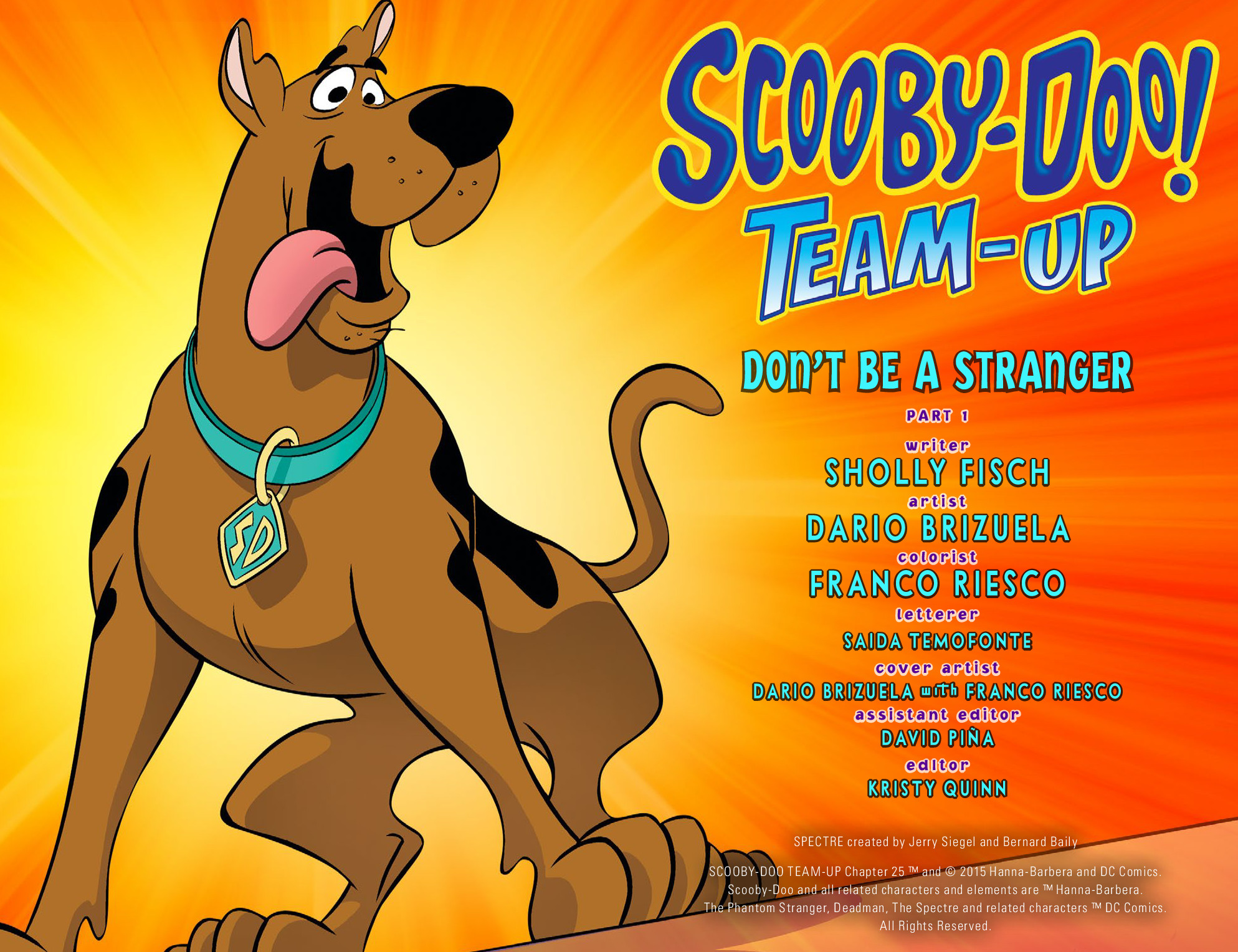 Read online Scooby-Doo! Team-Up comic -  Issue #25 - 3