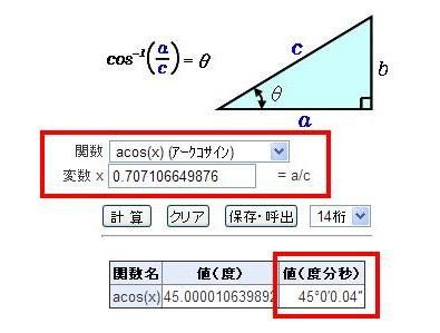 何とかここまでは達しましたけど逆三角関数が分かりませんので、それを使っ... matrixと逆三