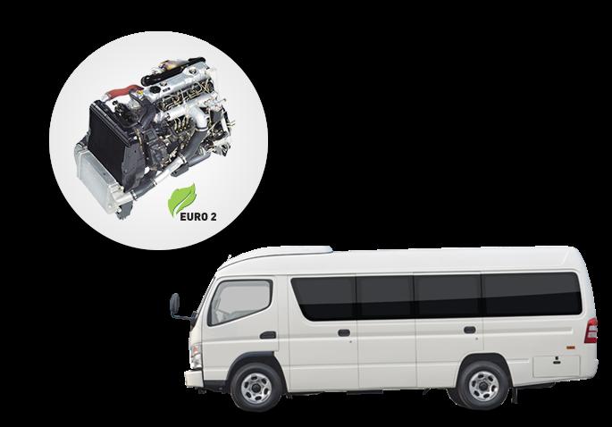 Mitsubishi Colt Diesel Bus Espasio 110 PS Jambi Performa