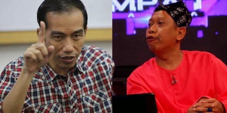 Jokowi Lucu