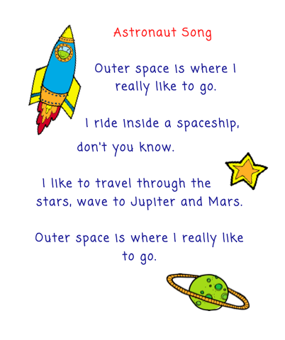 astronomy poems that rhyme - photo #29