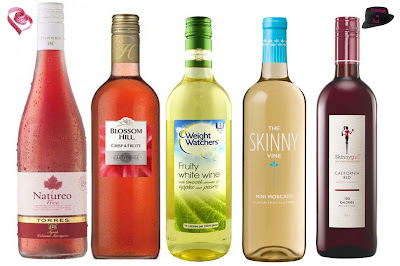 vinos bajos en calorias