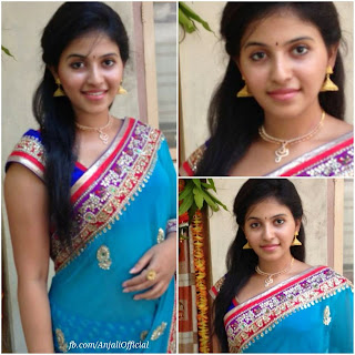 Anjali Tamil beauty Spicy Pics from her Official Facebook Page