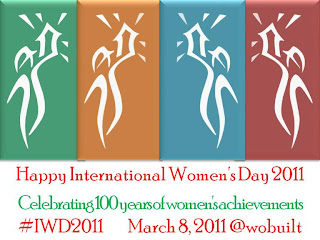 International Women's Day 2011 Celebrating, Encouraging Women in Construction, by wobuilt