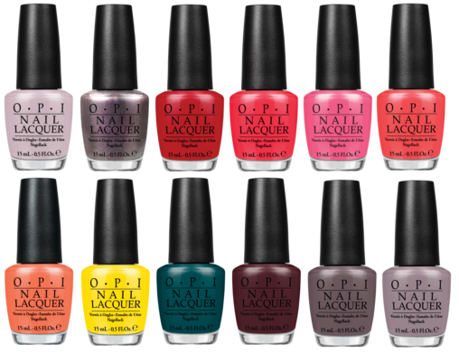 Preview - OPI Brazil Collection - limitierte Kollektion (LE) - März 2014