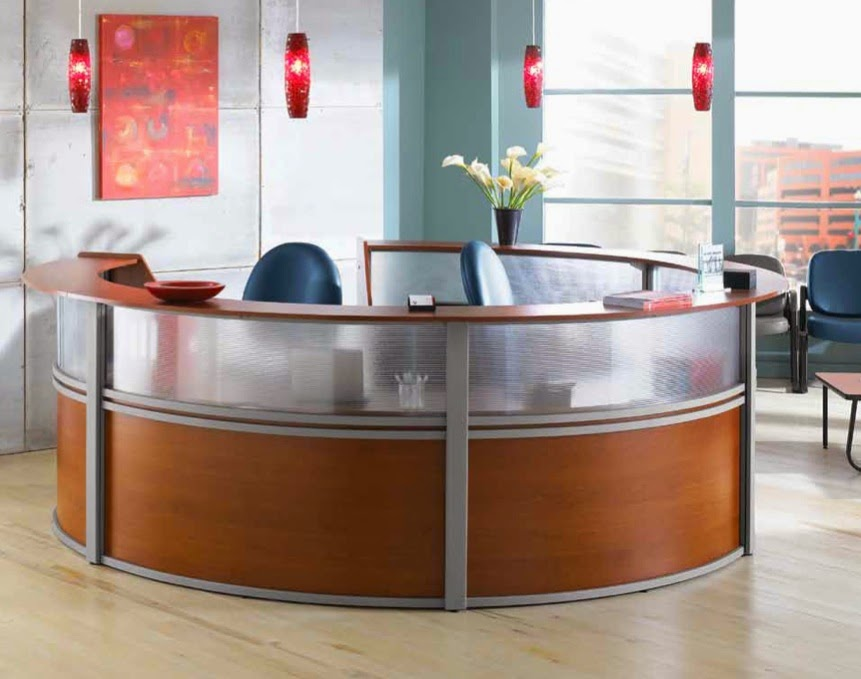 OFM Marque Reception Desk for Sale