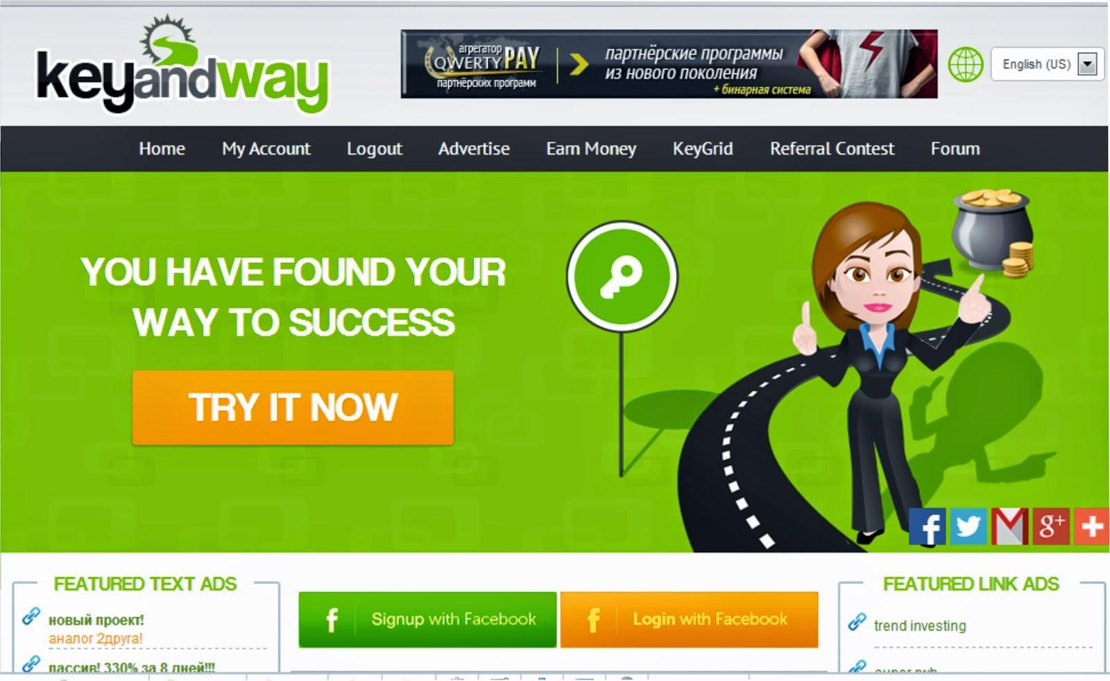 Gana dinero en KeyandWay