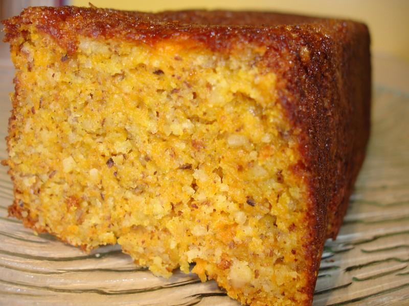 Cake Au Carotte Et Gingembre