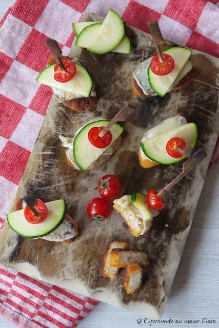 Experimente aus meiner Küche: vegetarische Nugget-Spieße