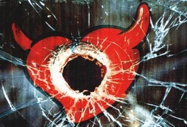 Risultati immagini per cuore satanico