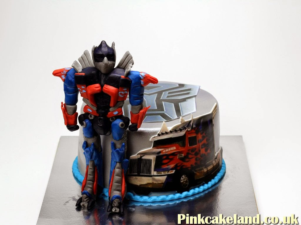 Transformers 4 Birthday Cake - Best Cakes in London, UK