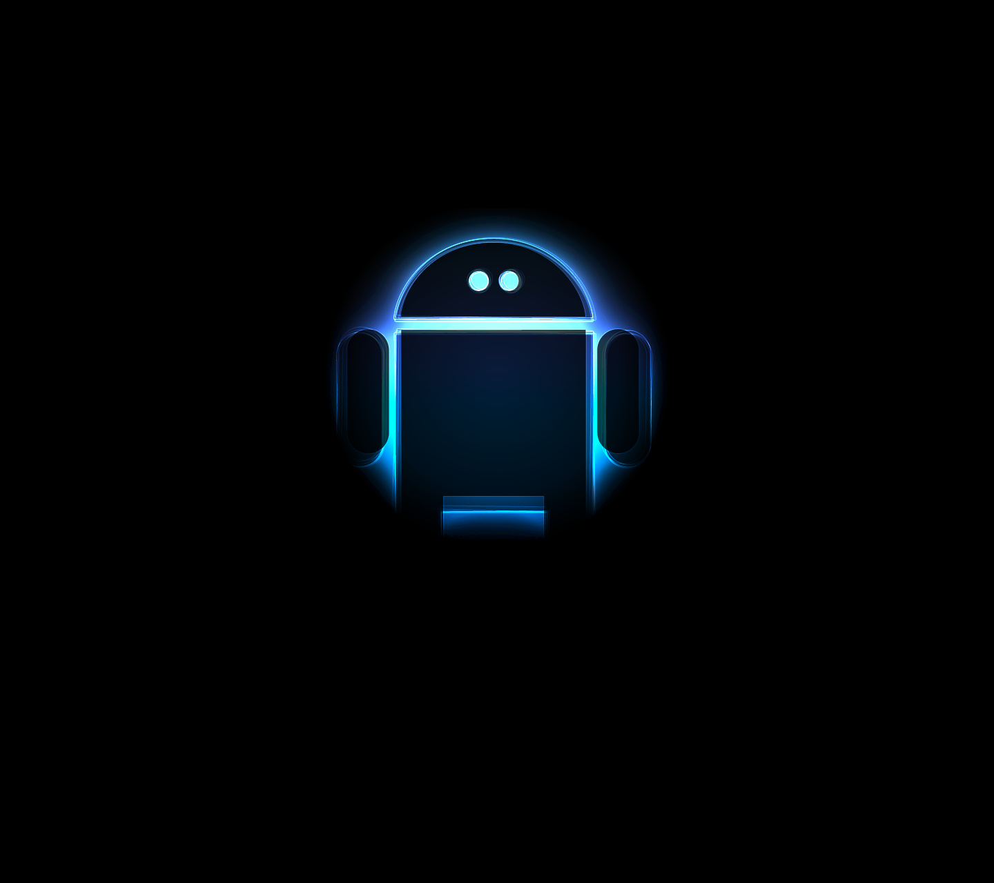 Androids in the dark cool wallpaper