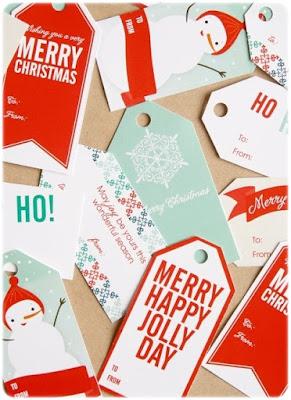 Etiquetas regalos Navidad - Sharonrowan