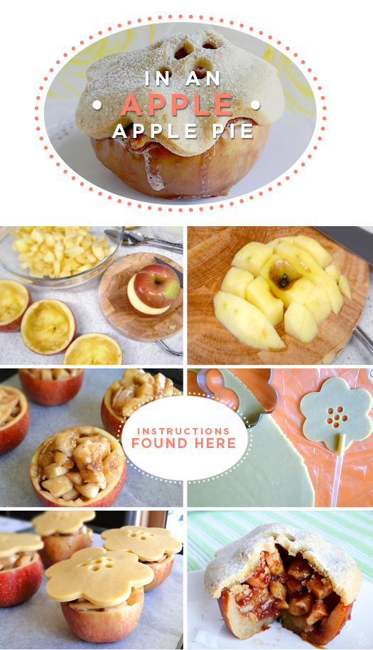L knafo do it yourself diy food apple pie in an apple diy food apple pie in an apple solutioingenieria Images