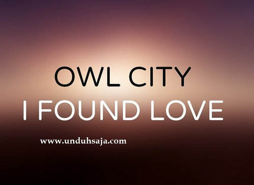 owl city i found love