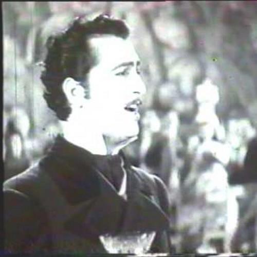 Hugo del Carril  con bigote
