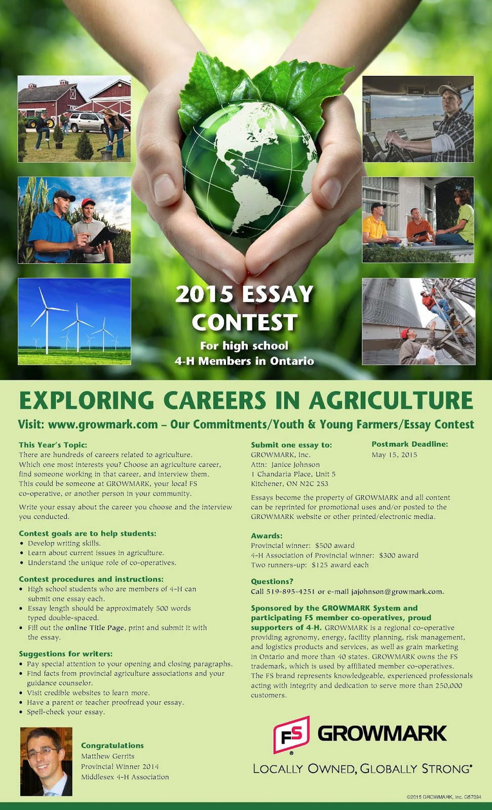 youth agriculture essay Whilst we're on the topic of youth, lrd's pacific agriculture and forestry policy network held an essay competition in late 2010 about youth in agriculture.