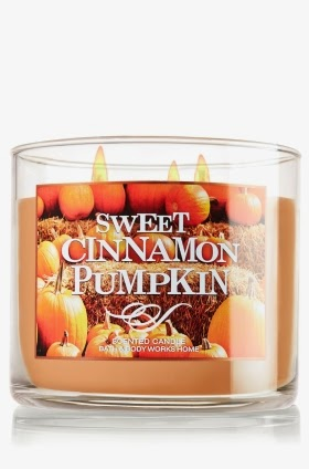 Pumpkin candle Bath and Body Works