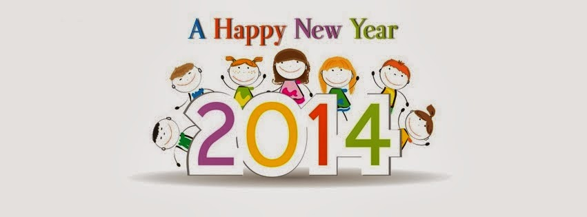 Happy New Year 2014 Cover Facebook - 3