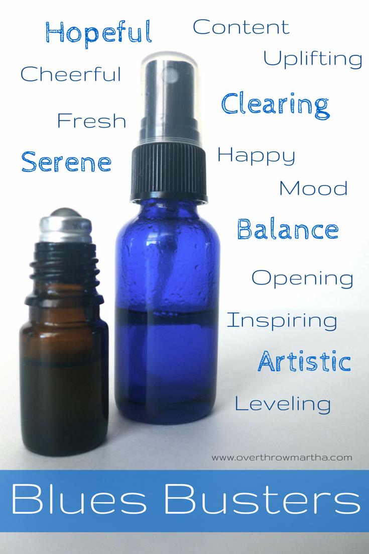 DIY uplifting blends, sprays and perfumes