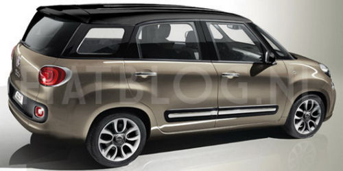 5ooblog   FIAT 5oo: New Fiat 500 L Plus or XL (7-seater)