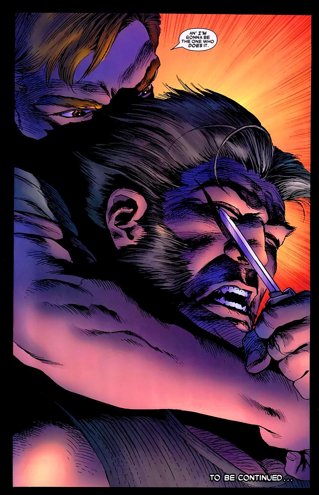 Read online Wolverine (2003) comic -  Issue #34 - 25