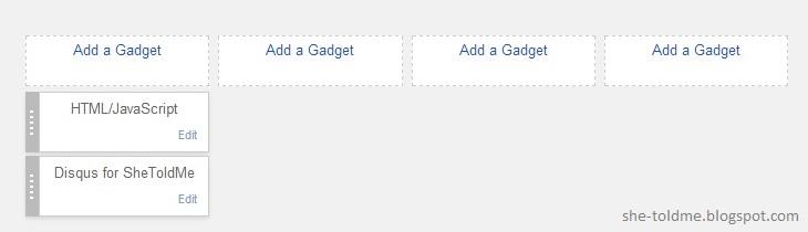 Disqus Widget For Blogger