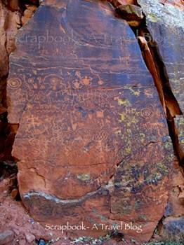 V-bar-V Ranch Petroglyphs near Sedona Arizona