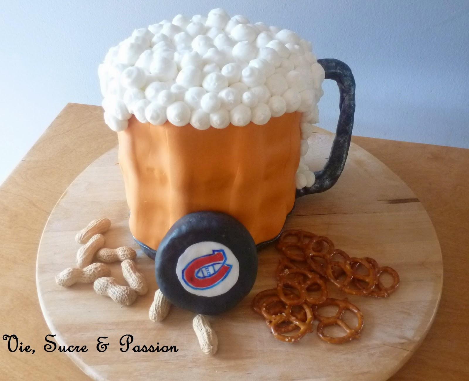 Gâteau Soirée du Hockey / Hockey Night Cake