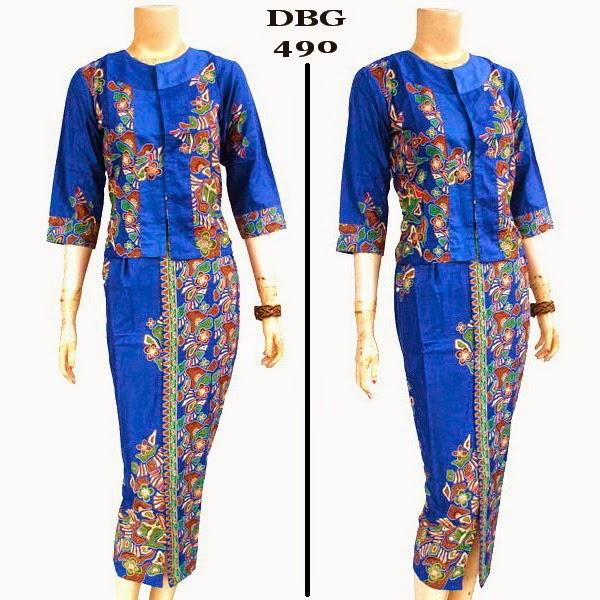 Baju Batik Muslim DBG 490
