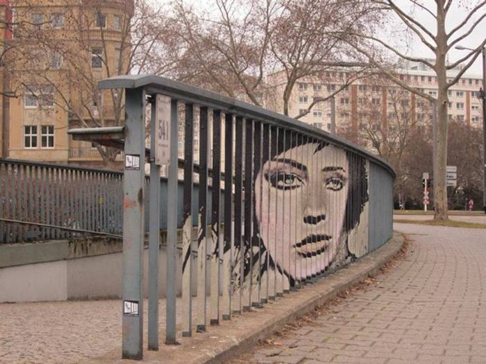 Mannheim, Germany-based street art duo known as Zebrating