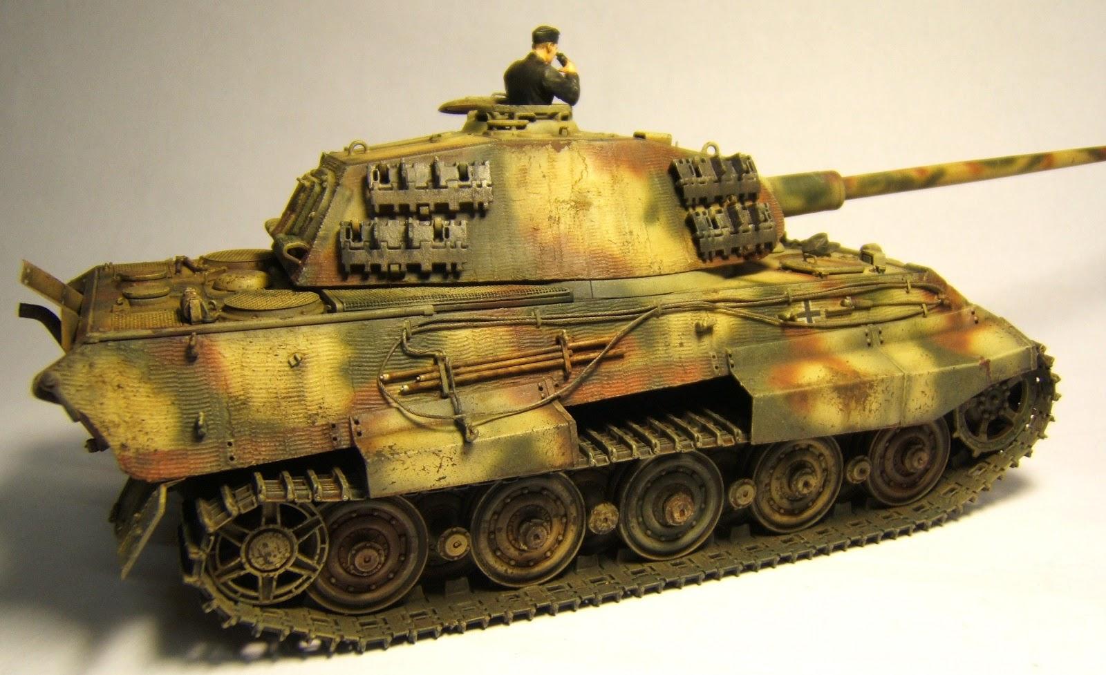 Dave S Tank Workshop King Tiger Porsche Turret