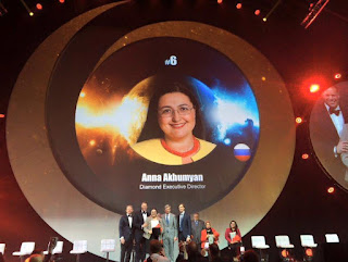 Global Top 15 Oriflame #6 Russia Anna Akhumyan (Diamond Executive Director)