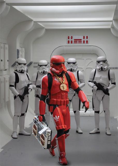 Un soldado imperial un tanto alternativo