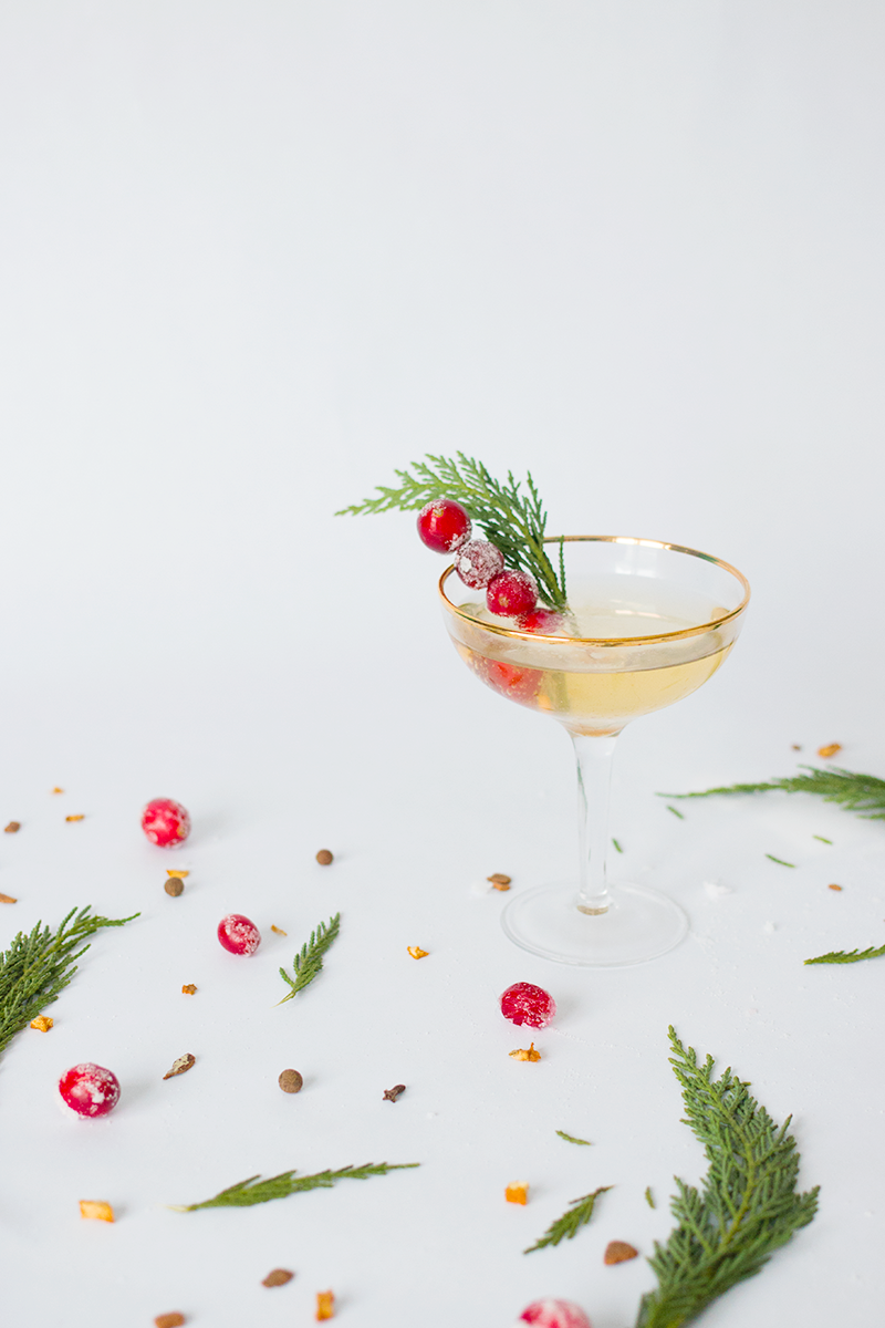 easy holiday cocktail ideas