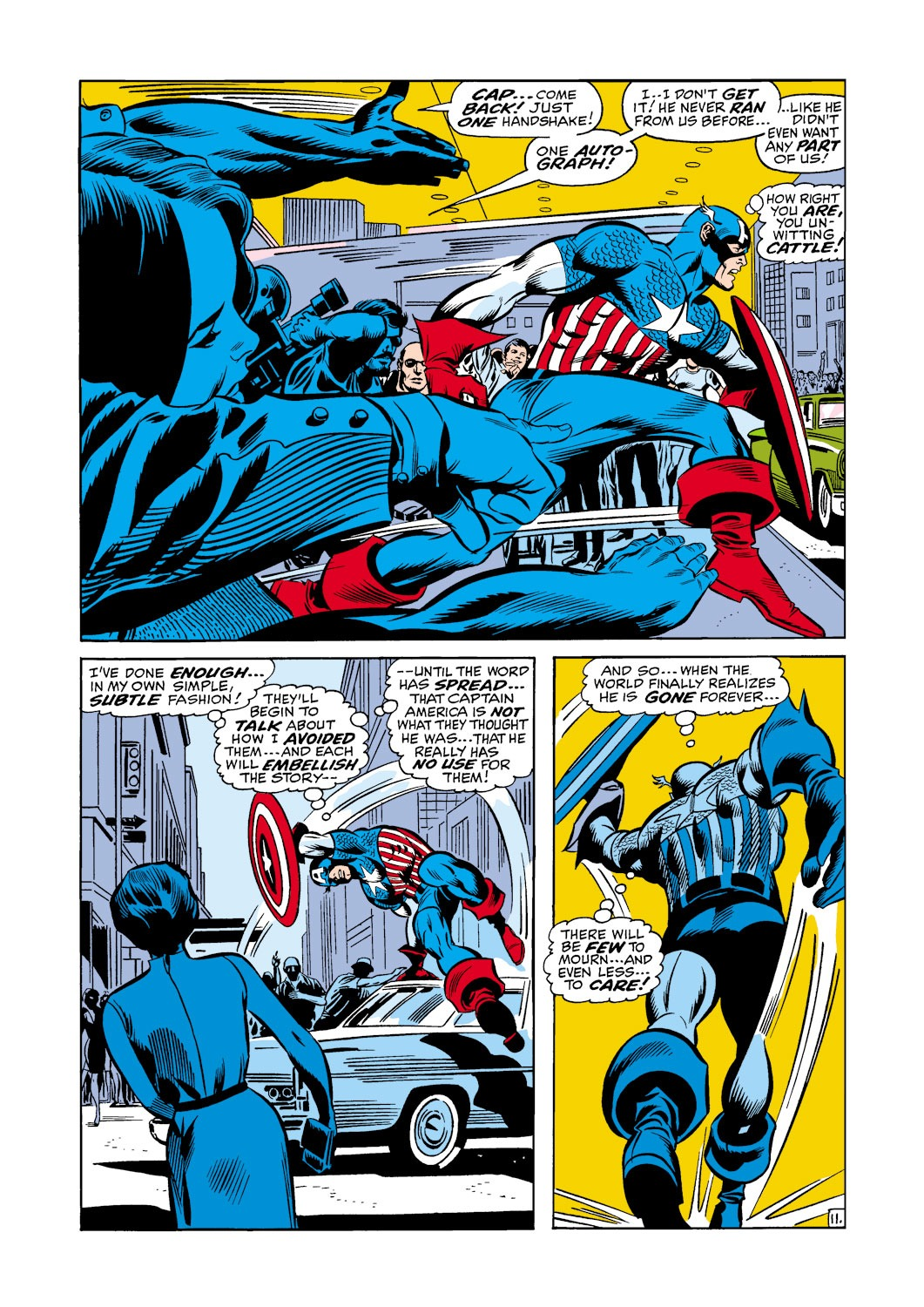 Captain America (1968) Issue #118 #32 - English 12