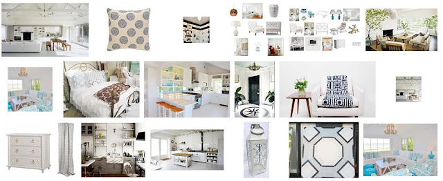 COCOCOZY summer style board with a focus on shades of white