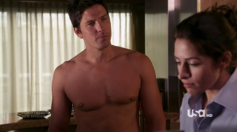 Michael Trucco Shirtless on Fairly Legal s1e05