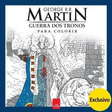 Já temos a versão nacional do 'coloring book A Game Of Thrones'