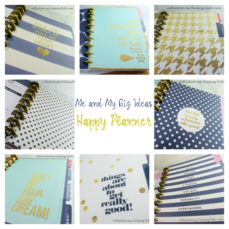 Happy Planner Review Dividers Collage notesfrommydressingtable.com